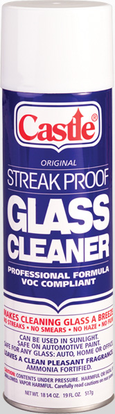 Castle Streak Proof Professional Glass Cleaner